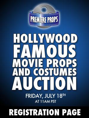Premiere Props Hollywood AuctionOnline Phone Auction Registration