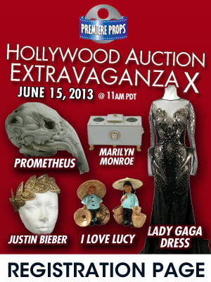 Premiere Props Hollywood AuctionOnline Phone Auction Registration